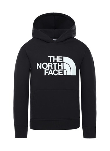 The North Face Drew Peak Pullover Hoodie Çocuk Sweatshirt Siyah Renkli